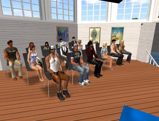 Bloggerunterricht bei den Schiffsratten