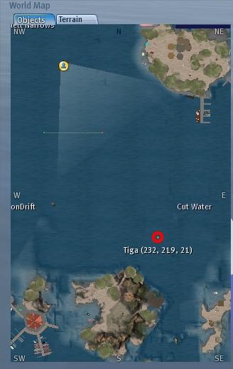 Für die Markierung einmal auf die Map klicken