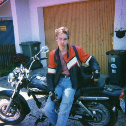 Ralf als junger wilder
